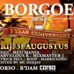 Surinaamse Borgoe Party op vrijdag 31 augustus 2012