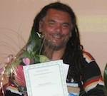 Patrick Dorder winnaar van het grote Sranantongo dictee 2012