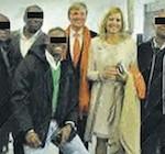 Gearresteerde Piet W. op foto met kroonprins
