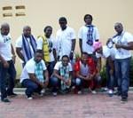Surinaamse formatie 'Aptijt' live op Zomercarnaval
