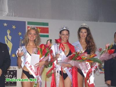 Winnaars Miss EU verkiezing in Suriname