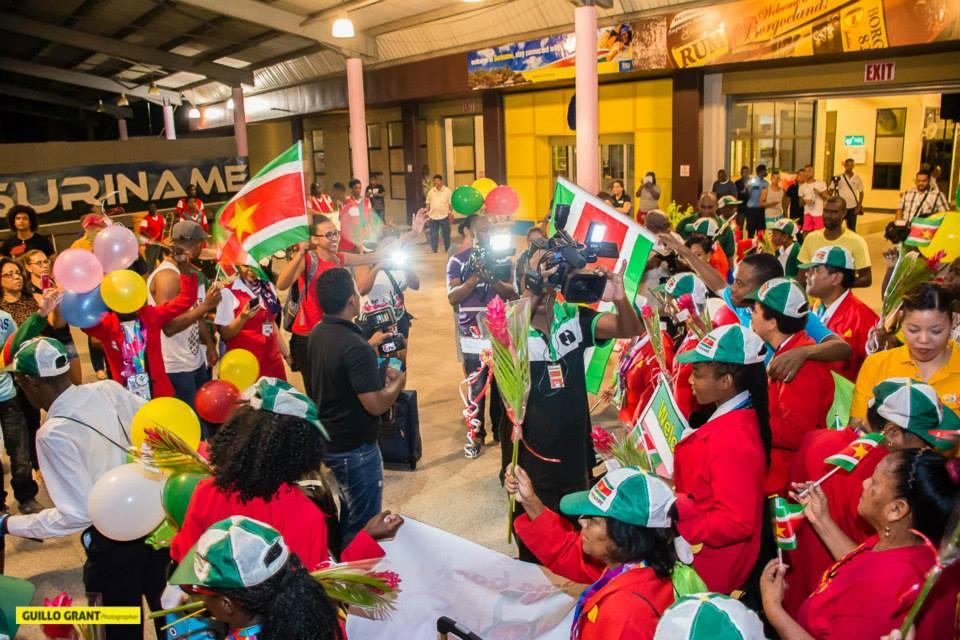 Special Olympics Team Suriname feestelijk ontvangen