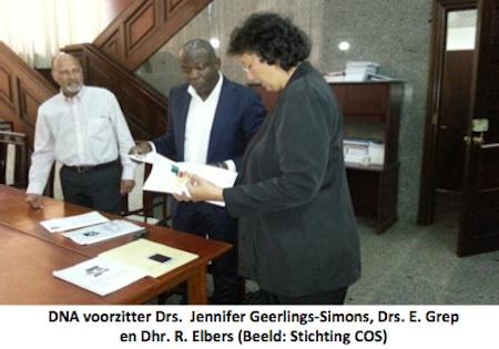 Stichting biedt eindverslag consultatieronden aan DNA Voorzitter