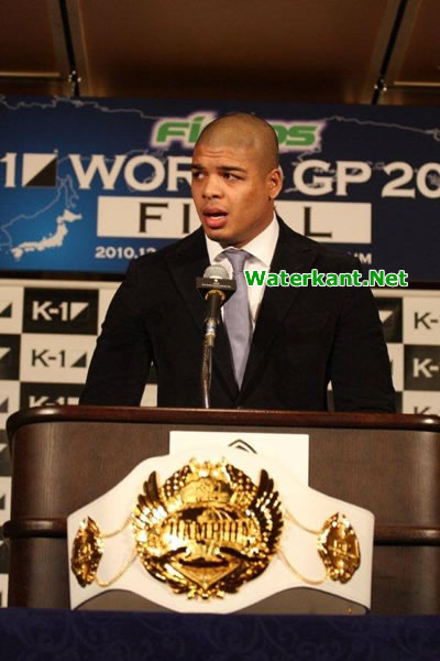 Tyrone Spong vertegenwoordigt Suriname op K1 finale