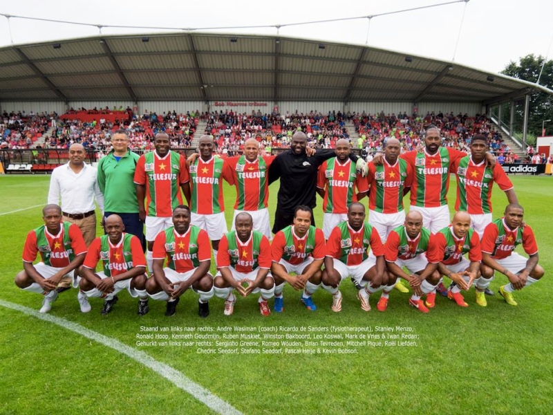 Suriprofs Legends tegen oud-Feyenoord live op TV