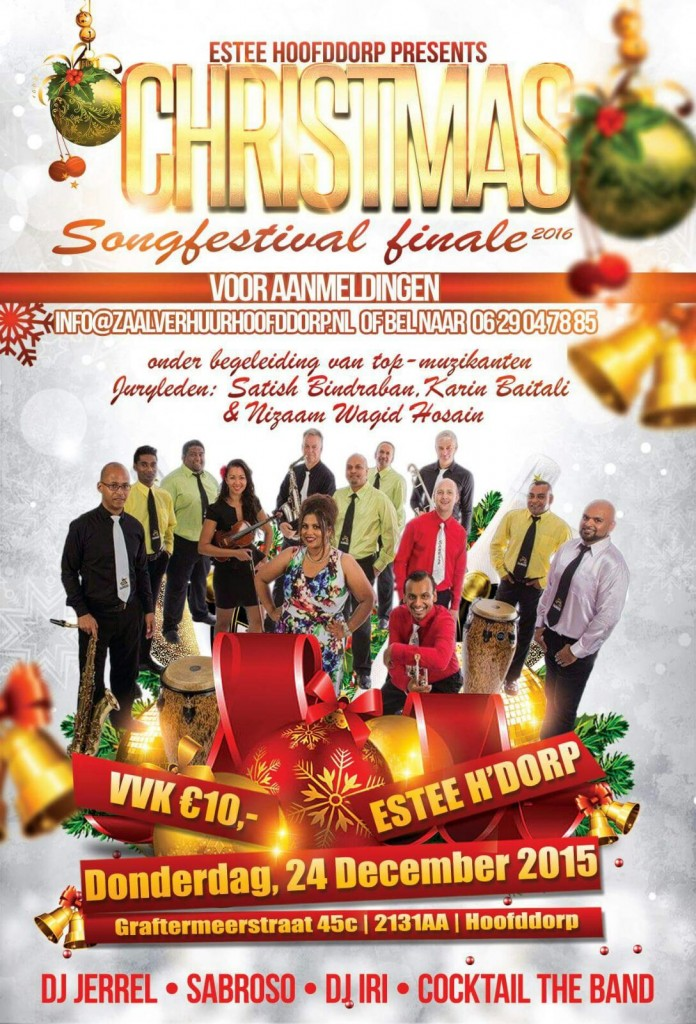 christmas songvestival 24 dec.