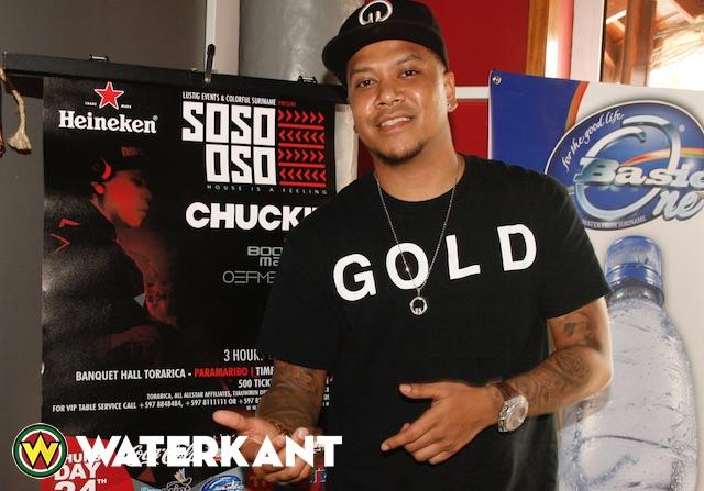 DJ Chuckie weer in Suriname voor optredens