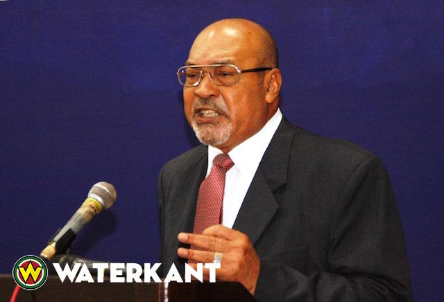 President Bouterse van Suriname