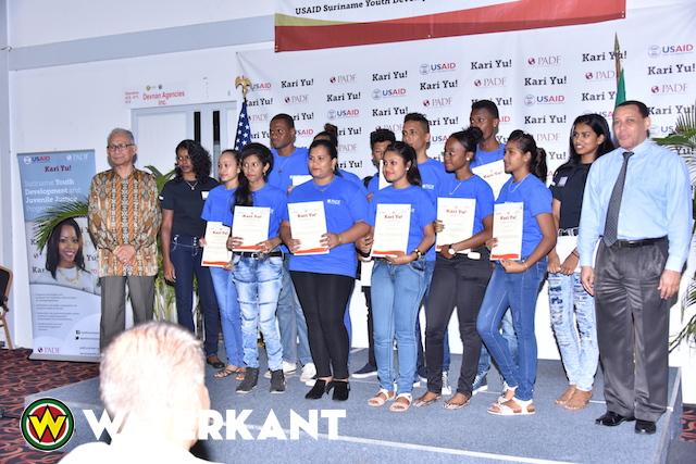 Certificaten voor deelnemers Kari Yu! programma