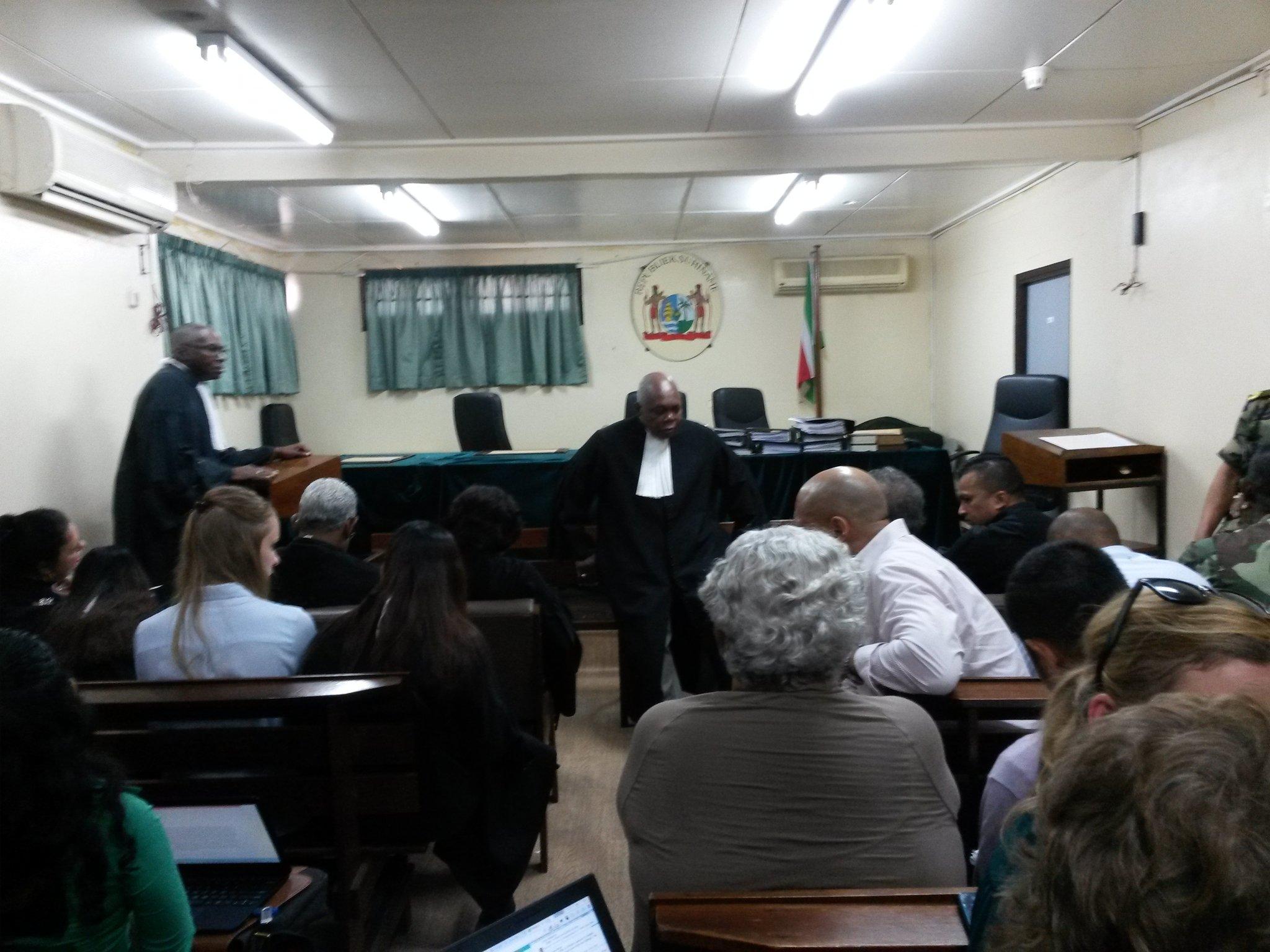 krijgsraad - decembermoorden in Suriname