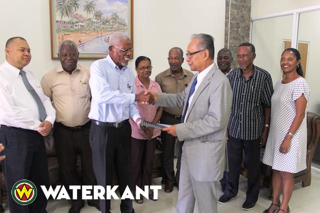 Jaarverslag van Bemiddelingsraad voor Geheel Suriname