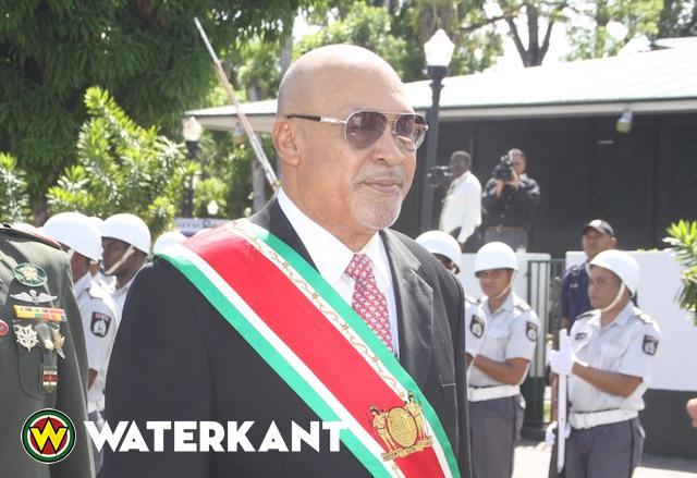 Bouterse, blijkt bevriend te zijn met een Nederlandse crimineel