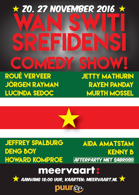 Srefidensi Comedy Show 2016