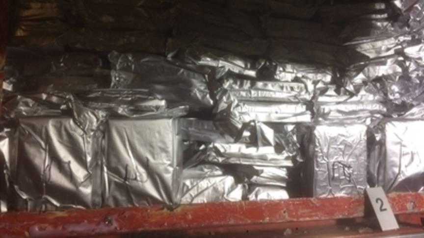 270 kilo cocaïne uit Suriname in Antwerpen onderschept