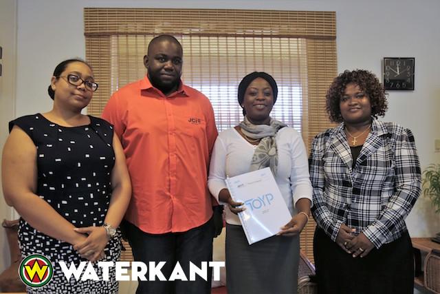 JCI bezoekt minister Sport en Jeugdzaken Suriname