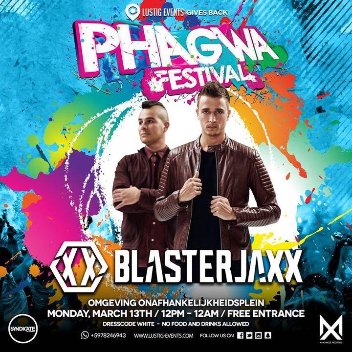 DJ Duo Blasterjaxx op Phagwa Festival Suriname