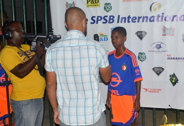 Internationaal jeugdvoetbaltoernooi in Suriname