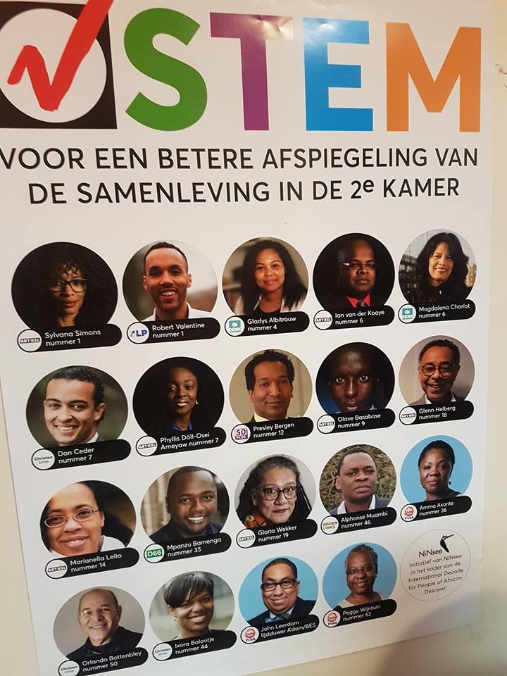 Politici van Afrikaanse én Afro-Caribische komaf bijeen