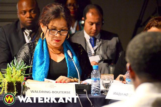 First Lady Suriname op Forum in Marokko