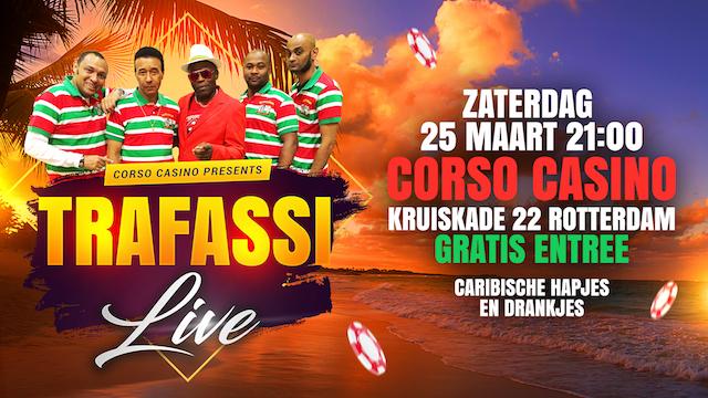 TRAFASSI live in Corso Casino op 25 maart