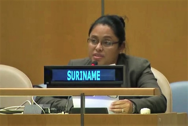 Suriname op vergadering Commission on the Status of Women