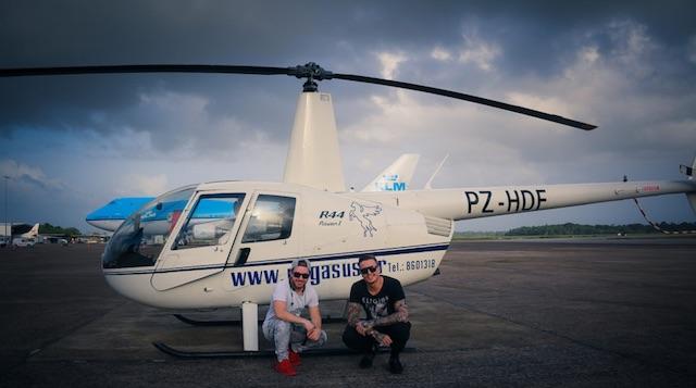 Blasterjaxx in Suriname voor Phagwa Festival