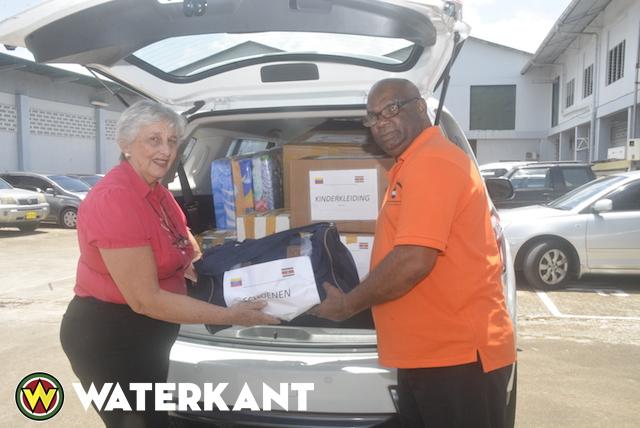 Donatie van Ambassade van Venezuela in Suriname