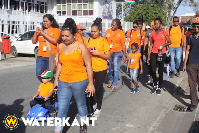 Loop om afkeuring geweld tegen vrouwen in Suriname