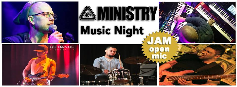 Ministry Music Night/Live in hartje Amsterdam