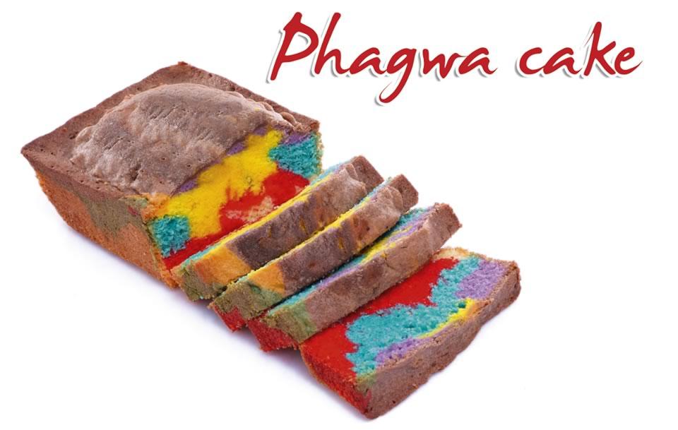 Fernandes Bakkerij komt met 'Phagwa cake' in Suriname