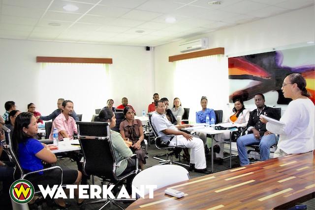 Training Bureau Genderaangelegenheden(BGA) in Suriname