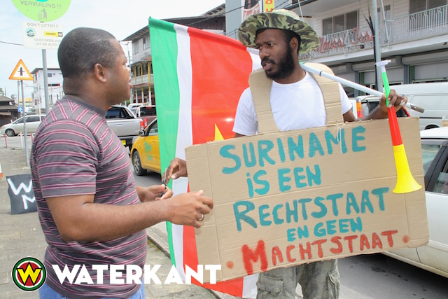 Curtis Hofwijks aangehouden door politie Suriname