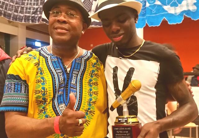 Jongerenformatie New Sensa winnaar van de Henry Ceder Ward 2017