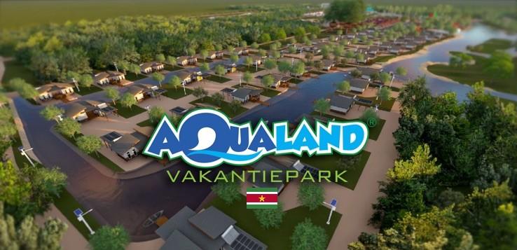 Bouw Aqualand vakantiepark in Suriname