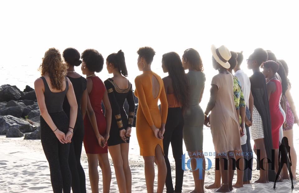 Audities Caribbean's Next Top Model in Suriname