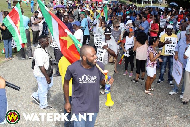 Hofwijks ondersteunt protest actiegroep 'We Zijn Moe'