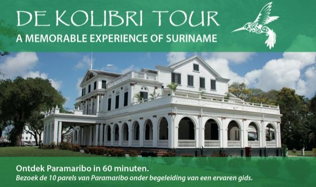 Tour presenteert tien parels van Paramaribo