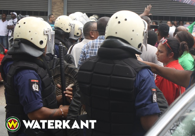Oppositie Suriname veroordeelt geweld en intimidatie tegen volk