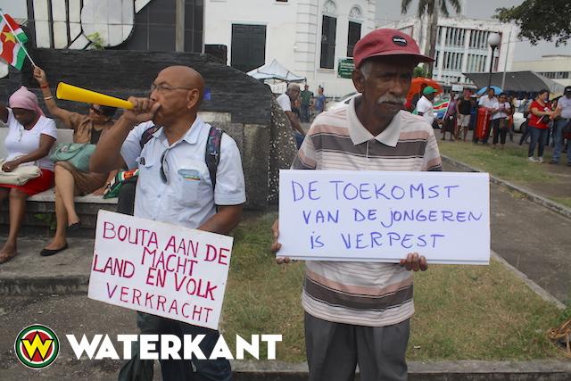 Vandaag opnieuw protestactie in Suriname