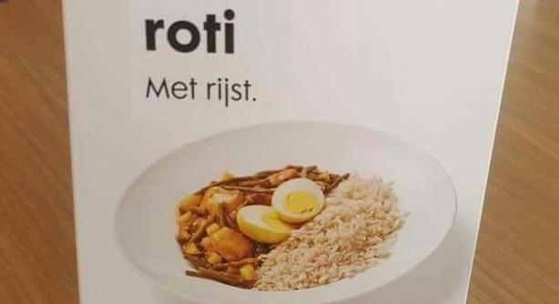 HEMA gaat gerecht 'Roti met Rijst' aanpassen