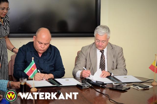 Samenwerkings- en uitwisselingskader België en Suriname