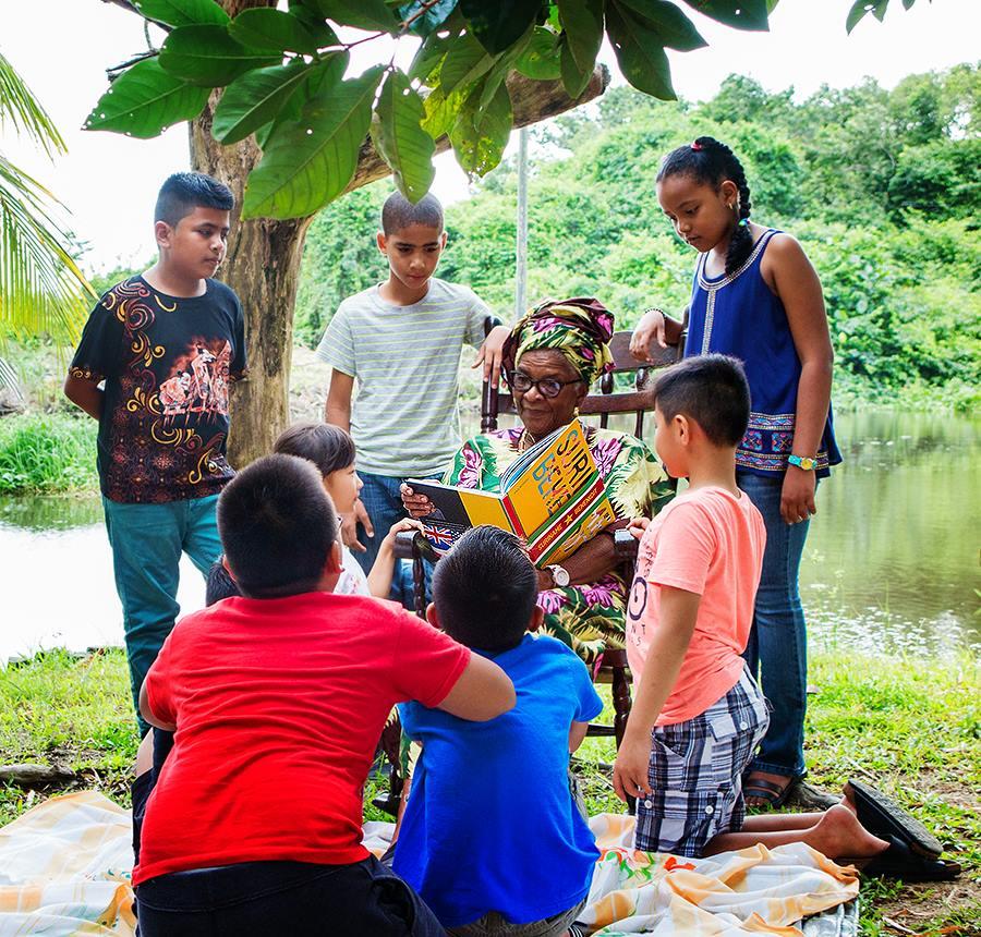 Bekende Surinamers inspirators voor de jeugd