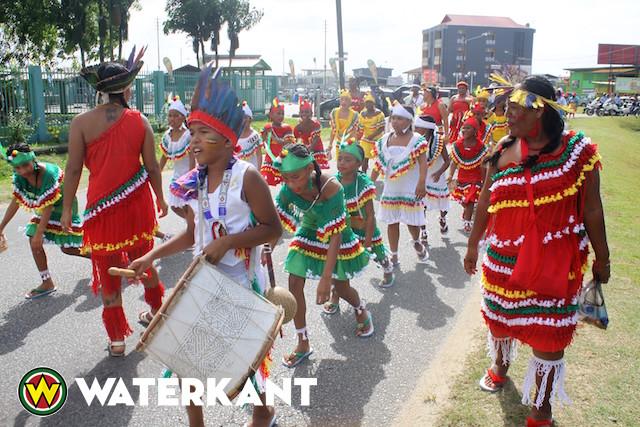 Derde dag van Wandelmars in Suriname
