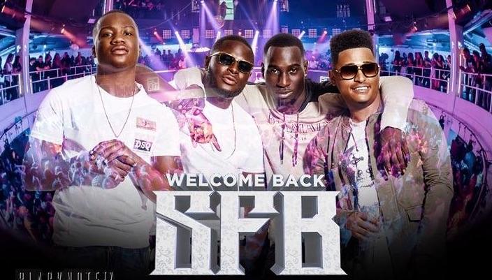 Eerste optreden rappers SFB na vrijlating in Suriname