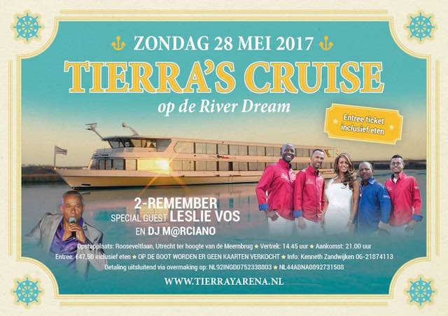 Tierra's Cruise met 2-Remember op zondag 28 mei
