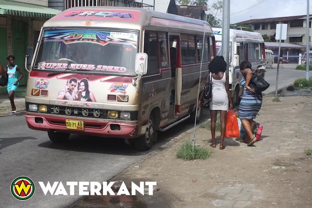 Bustarieven in Suriname omhoog
