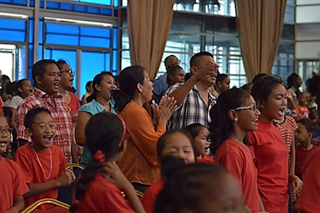 Gebedsdag voor kinderen in Suriname