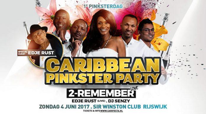 Caribbean Pinkster Party zondag 4 juni in Rijswijk