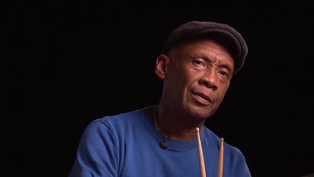 Eddy Veldman opent drumschool in Suriname