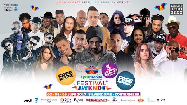 Fawaka SU Festival zaterdag 3 juni in Zoetermeer